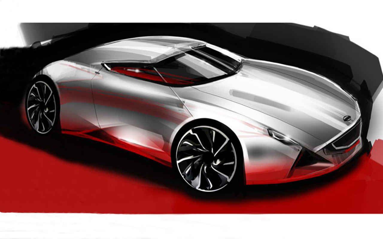 BMW Vision DC Roadster Concept (2019): Elektro - Naked