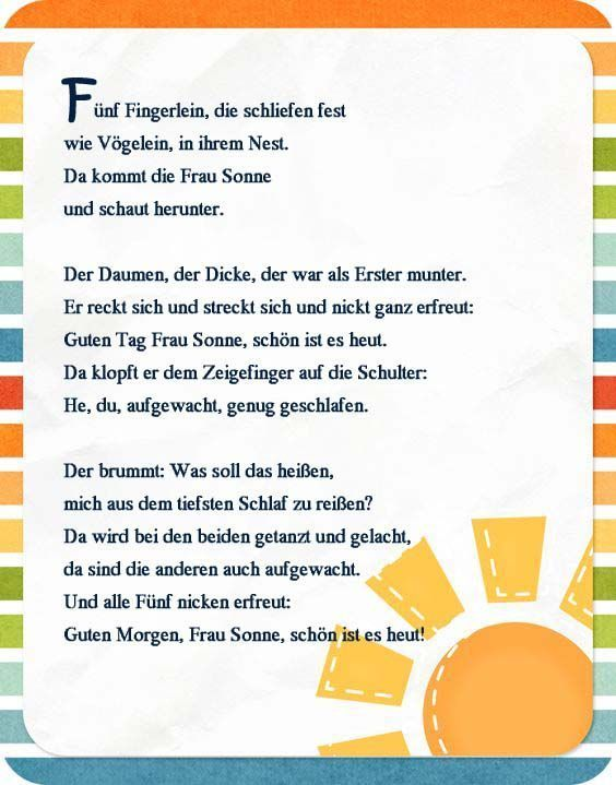Fingerspiel -Frühling- Guten Morgen  #OsternSpruc... - #Fingerspiel #Frühling #Guten #morgen #OsternSpruc #portfolio #frühlingblumen