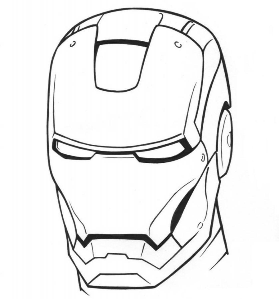 ironman coloring pages 04 Work Pinterest Embroidery and Craft