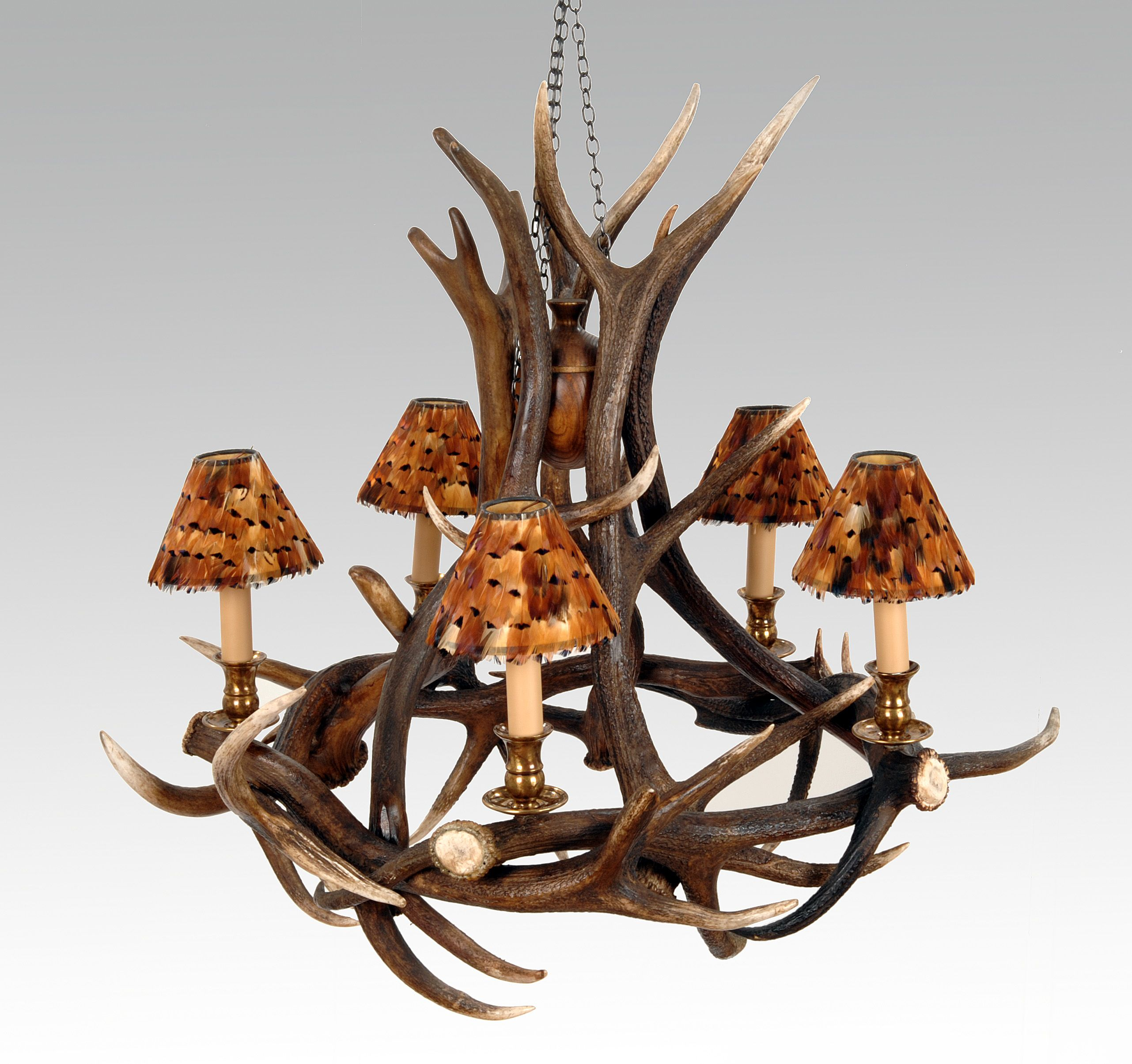 Our 5 arm red deer chandelier antler chandeliers pinterest red our 5 arm red deer chandelier aloadofball Images