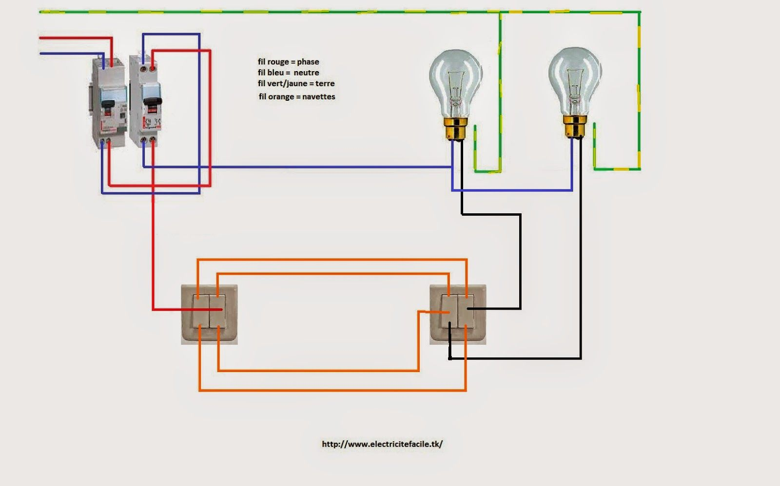 Doubl Va Et Vien Jpg 1600 998 Electrical Wiring Electrical Engineering Electricity