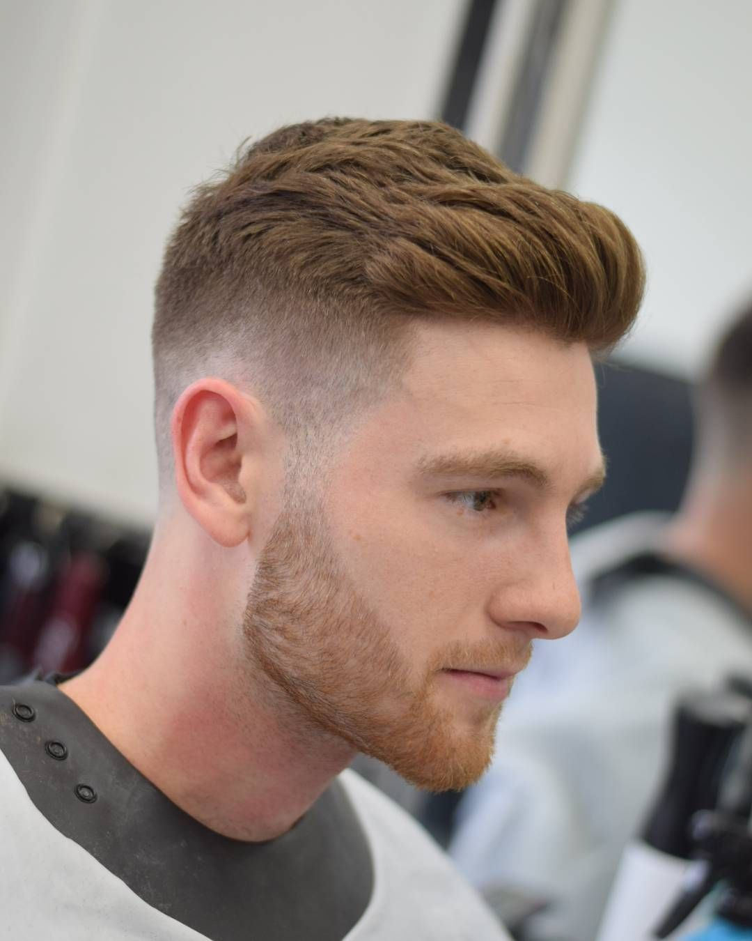 haircut and beard trim hairstyles for protruding ears fade haircut 2573