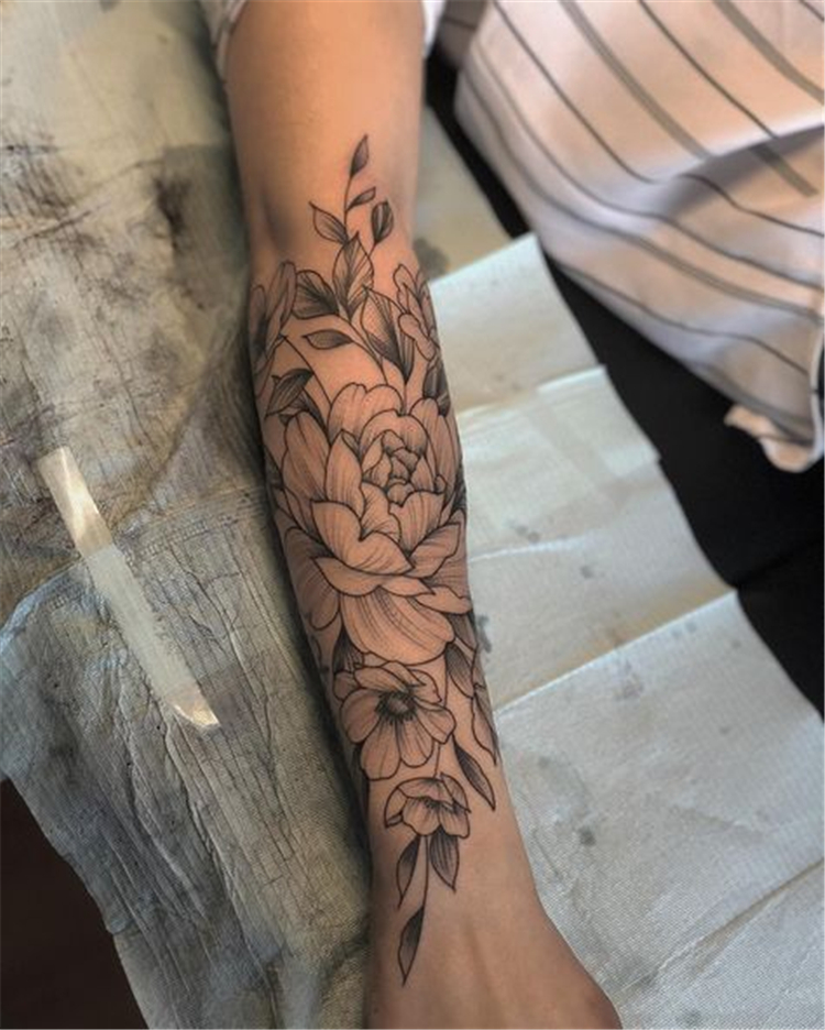 Photo of 50 Chic And Sexy Arm Floral Tattoo Designs You Must Know | Women Fashion Lifestyle Blog Shinecoco.com