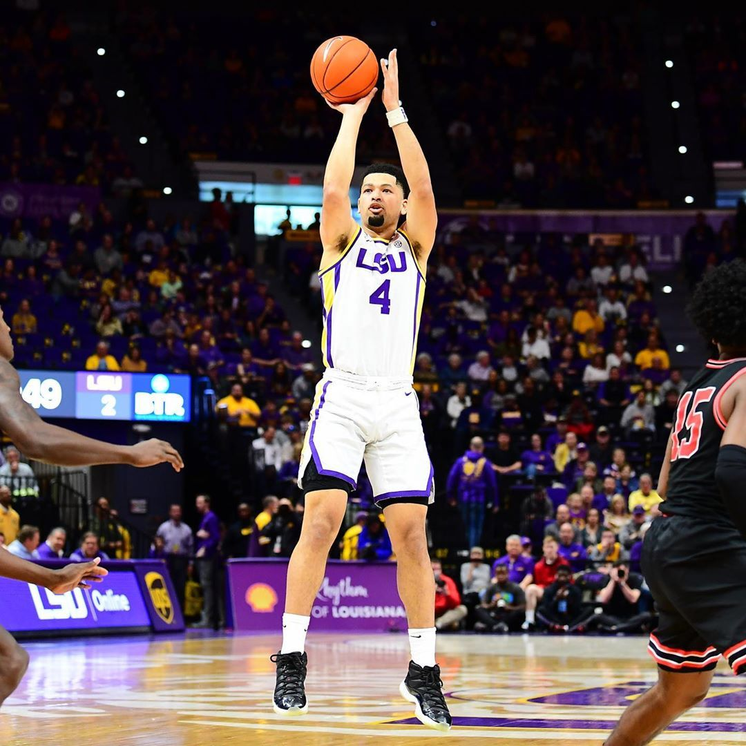 Lsu Basketball On Instagram 1 600 Points 10th In All Time Lsu Scoring Our Point Guard Skylar Mays In 2020 Lsu Basketball Basketball Court