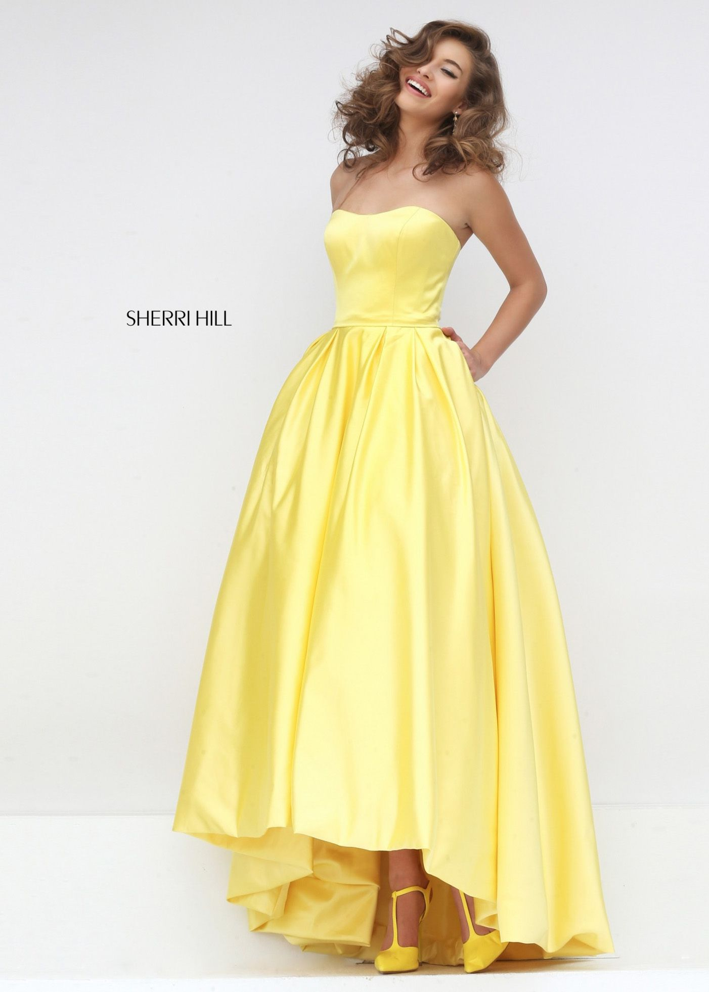 76d36423127 ... prom gowns. Sherri Hill - Beauty and the Beast dress