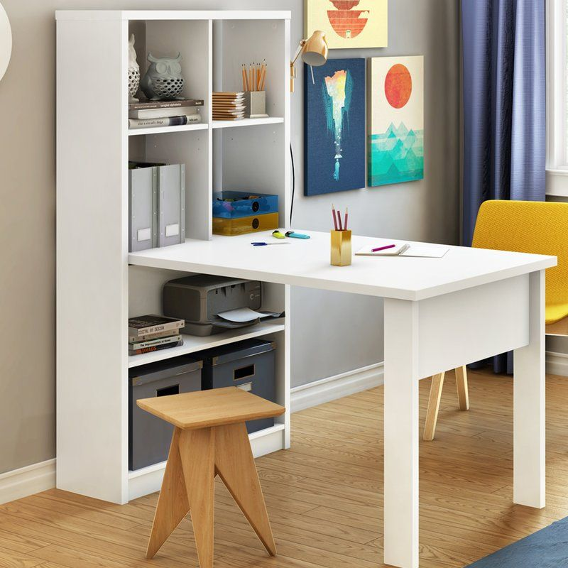 South Shore Annexe Craft Storage Unit Combo Writing Desk Reviews Wayfair Craft Tables With Storage Craft Table Bookshelf Desk