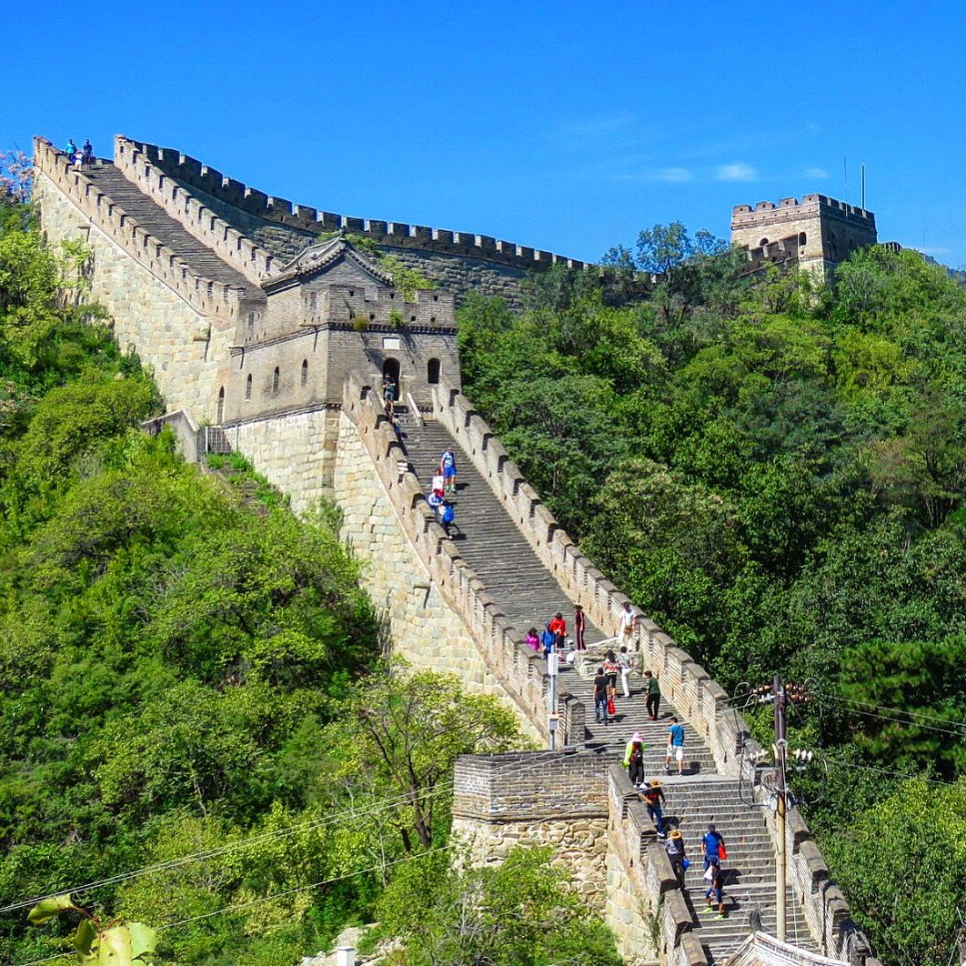 mutianyu great wall of china beijing on the great wall of china id=68033