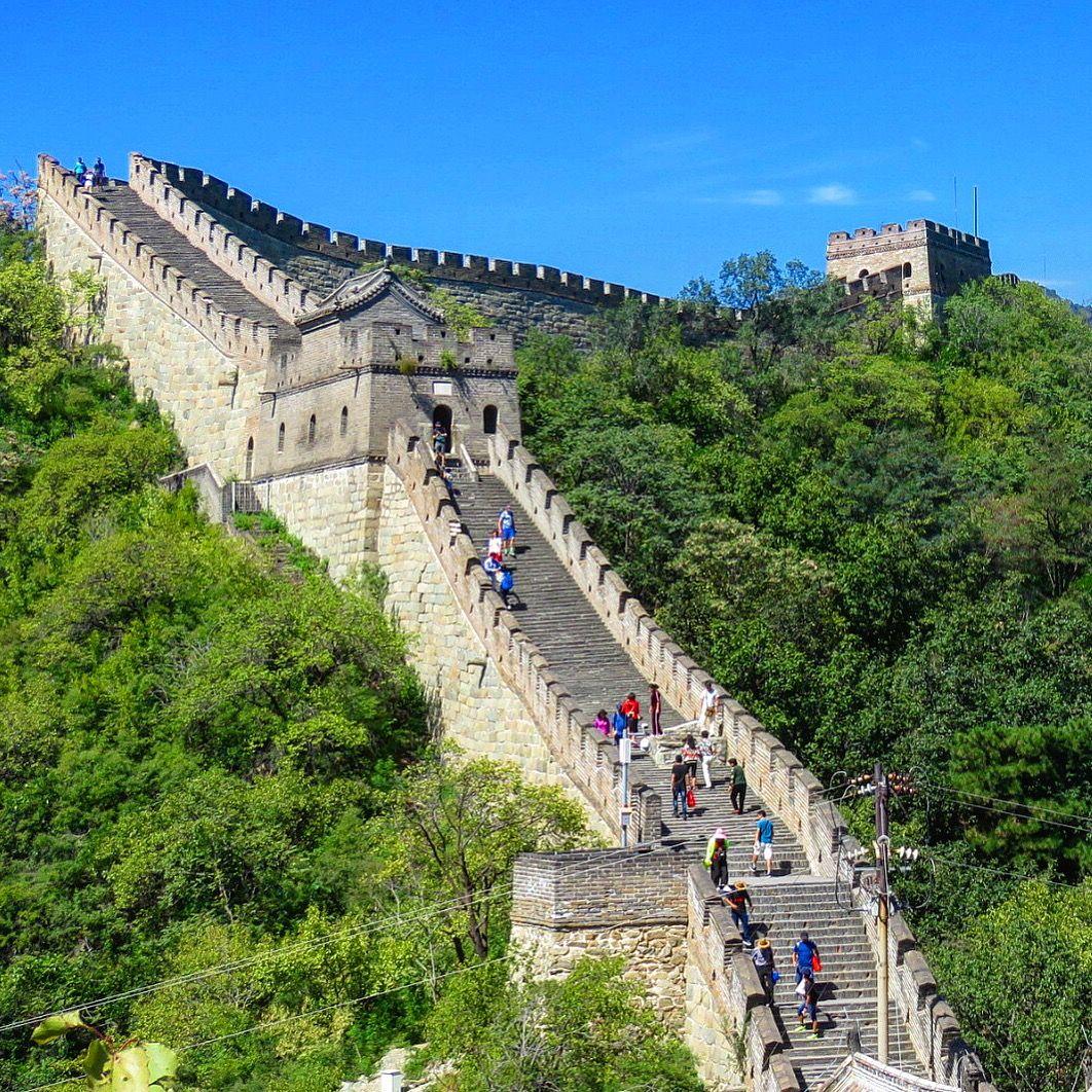 Mutianyu Great Wall of China, Beijing.