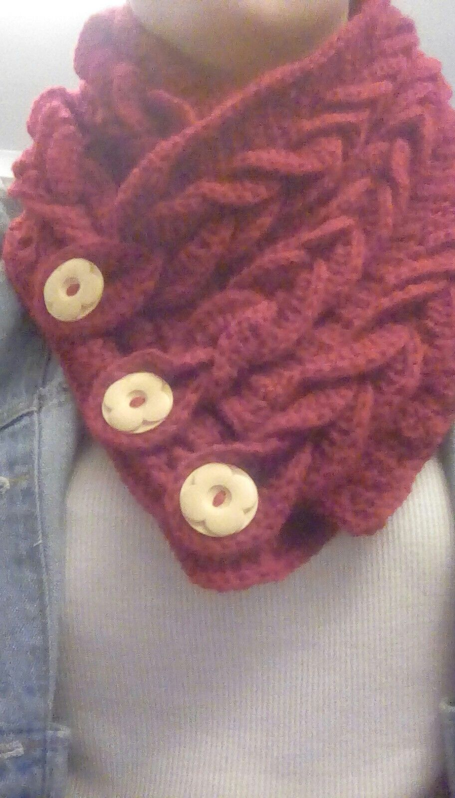 crochet braided cowl Braided cowl, Crochet braids, Crochet