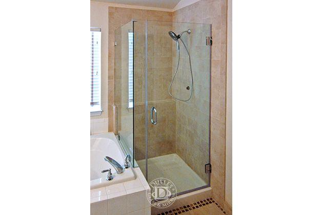 Frameless Shower Door 90 Degree Shower Door Glass Shower Doors