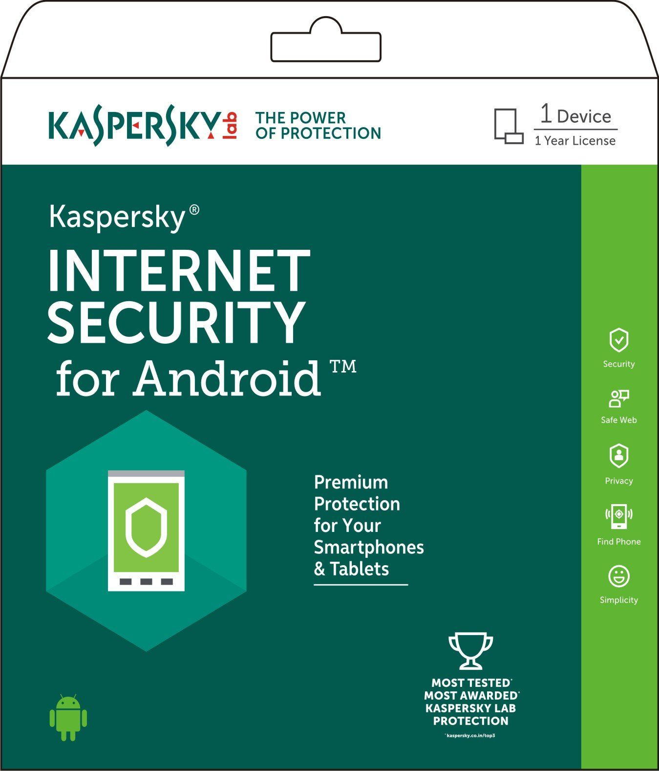 Deals on Kaspersky Security for Android