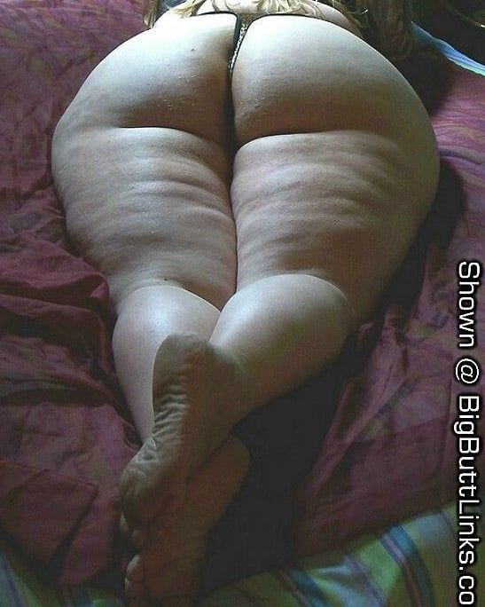 ass Black filled bbw cellulite
