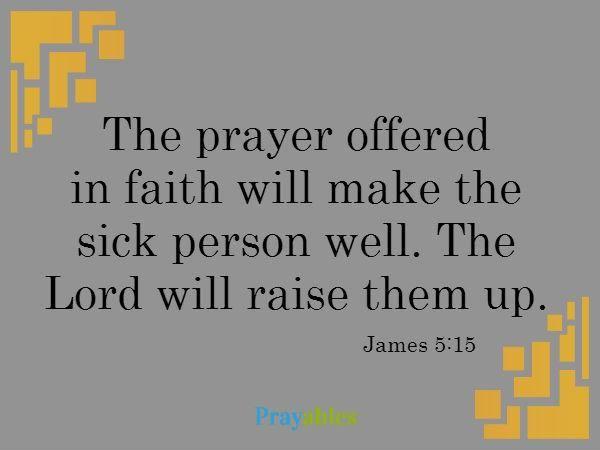 prayables bible verses about healing