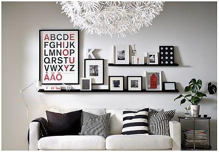 ikea picture ledge for book holder   IKEA Picture Ledge 22\