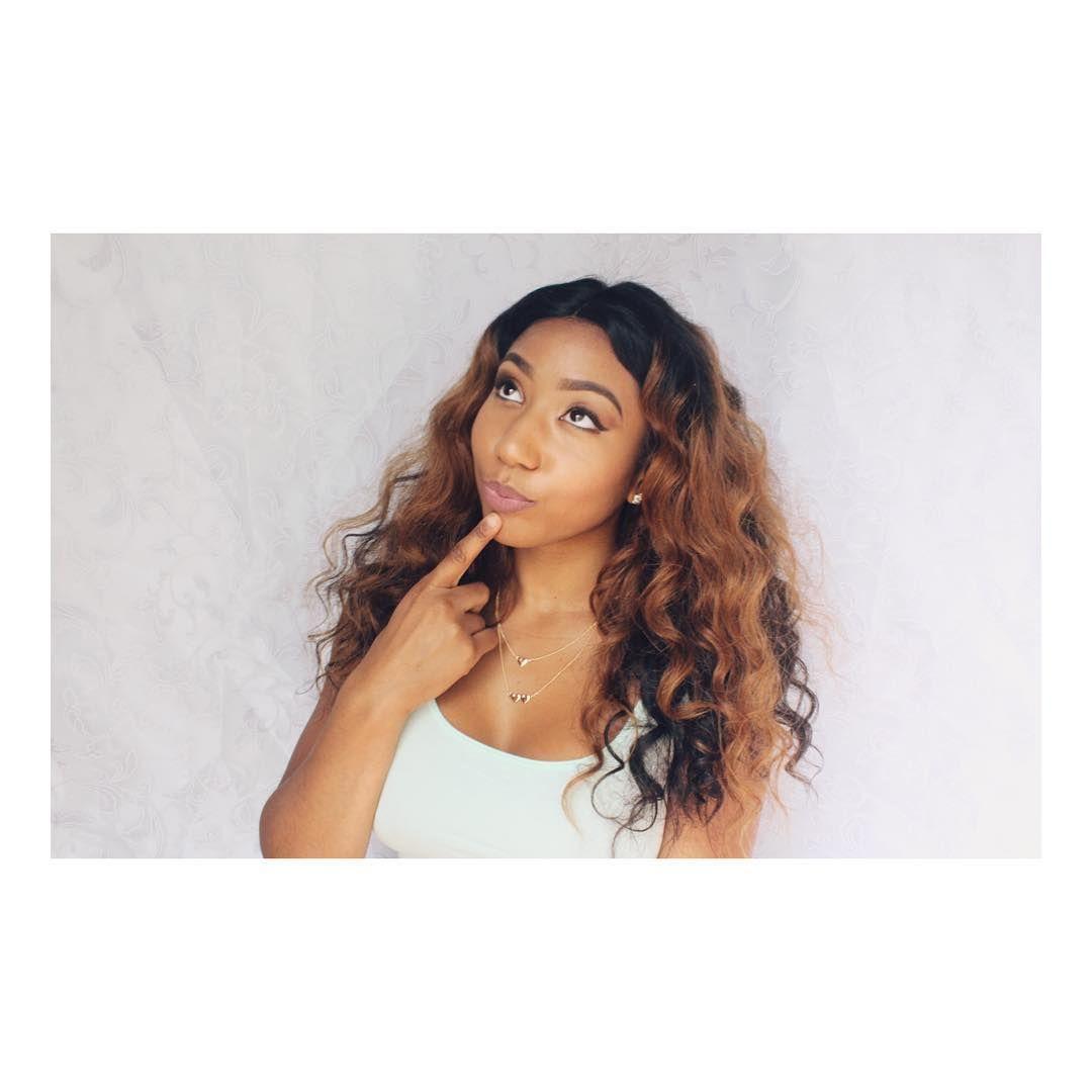Beyonce Ombre Wavy Brazilian Virgin Hair Lace Wigclw Beautifulmorgan Wowafricanhair