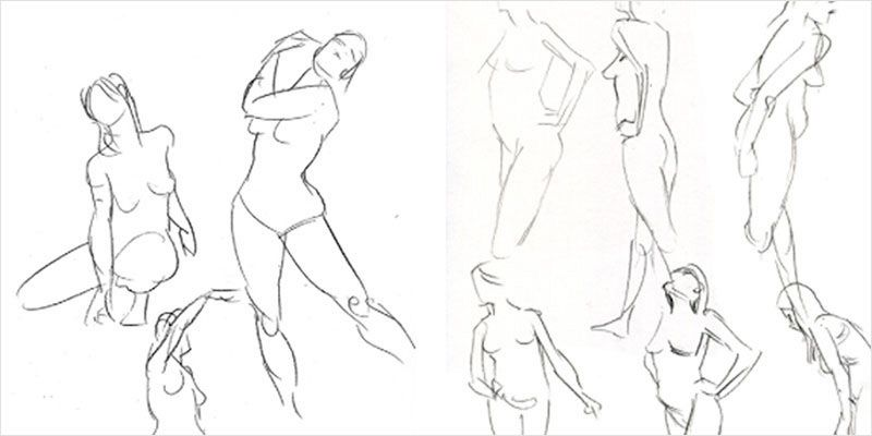 Sponsor // Learn to Draw the Human Body with a Free Guide From ...