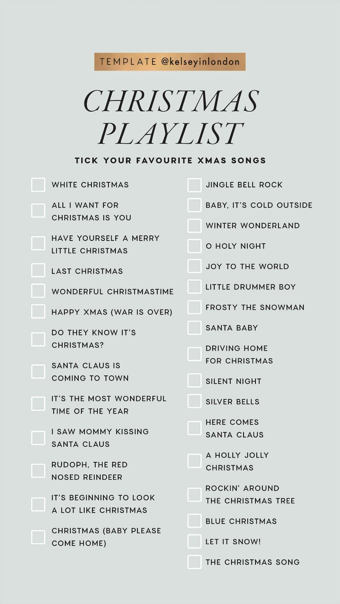 Christmas Playlist. Christmas Playlist. christmas
