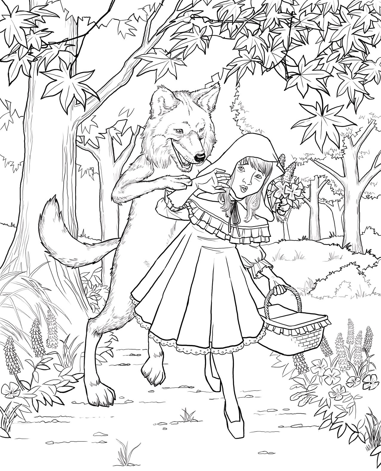 Little Red Riding Hood Found It On Google Little Red Riding Hood Red Riding Hood Story Red Riding Hood