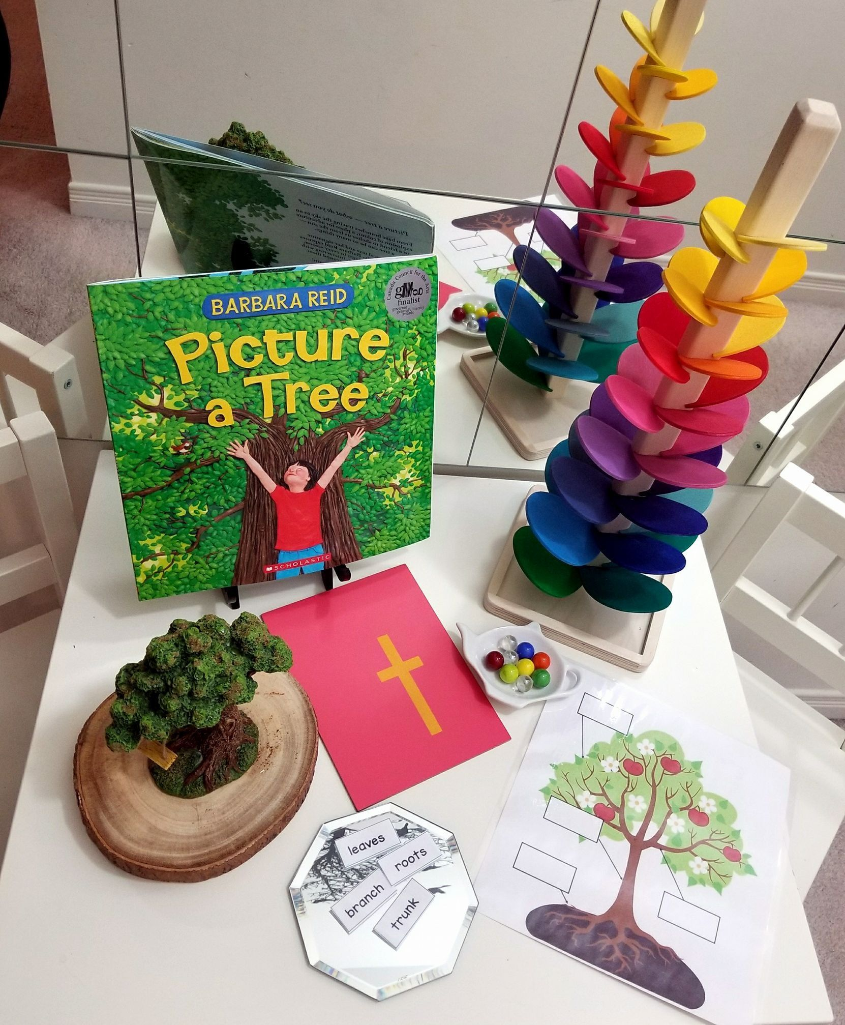 Fall Leaves And Trees Activities Preschool Math And