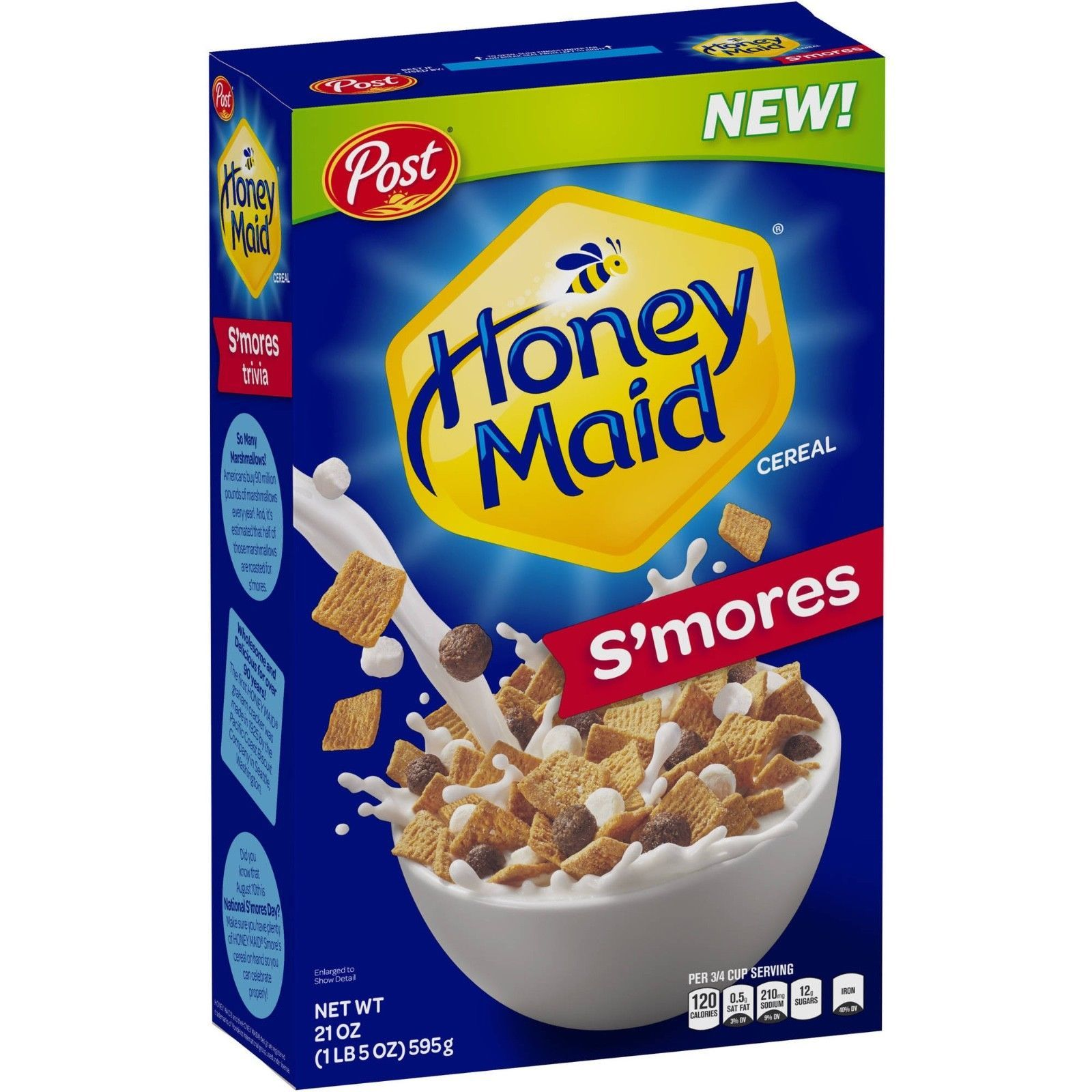 Cereals And Breakfast Foods 62717: New Post Honey Maid