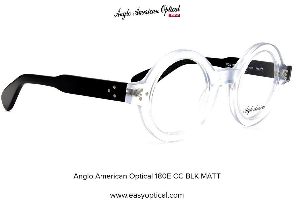 84a6348af61b Anglo American Optical 180E CC BLK MATT