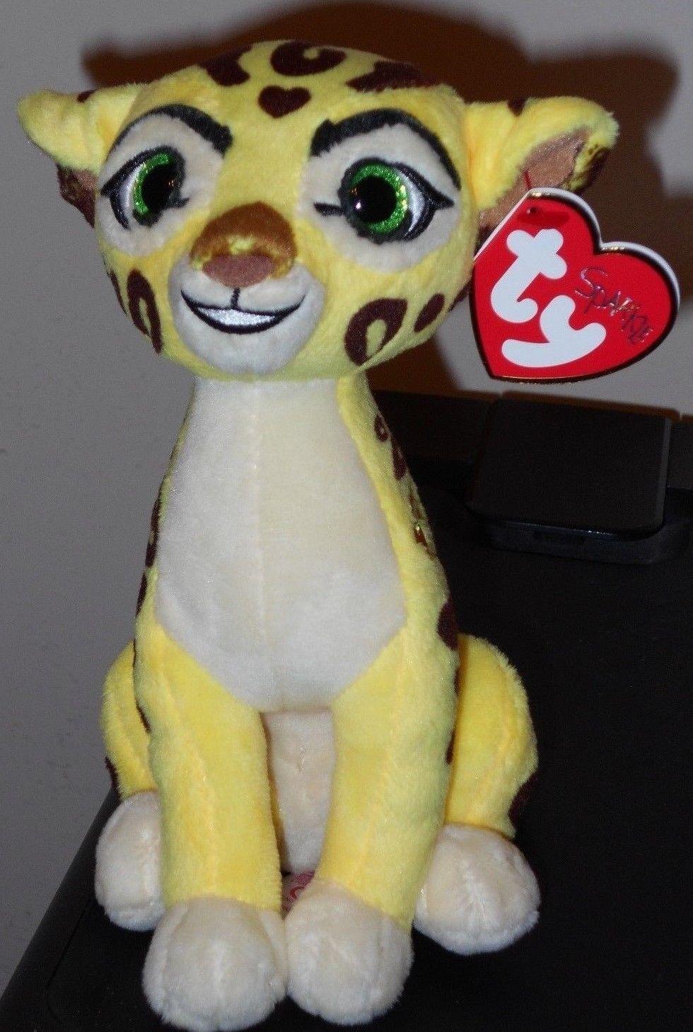 Disney The Lion Guard - MWMTs Stuffed Animal FULI the Cheetah TY Beanie Baby