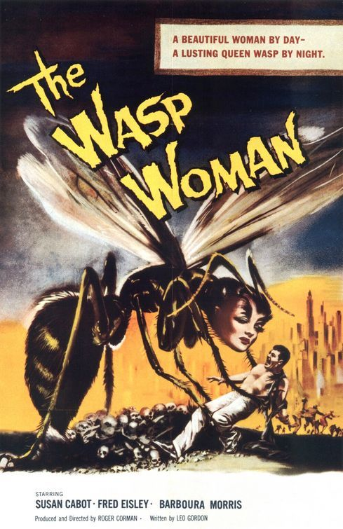 The Wasp Woman (1959)  OLD MOVIES ARE PRICELESS