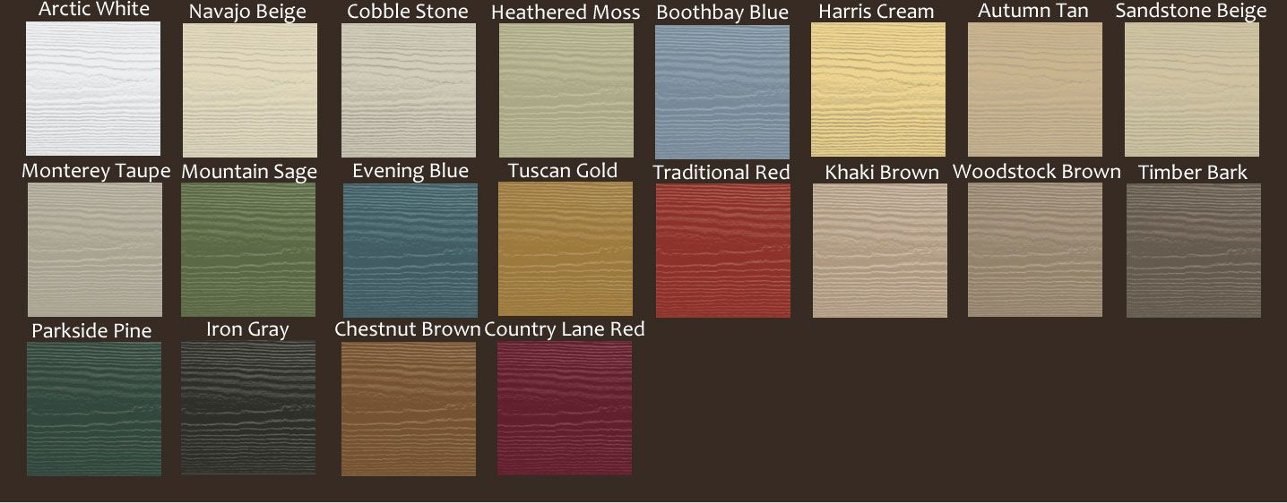Hardie board and stone houses hardy board colors for Siding styles and colors