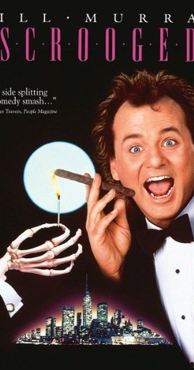 Scrooged (1988) - IMDb | Movies | Pinterest | Richard donner, Bill ...