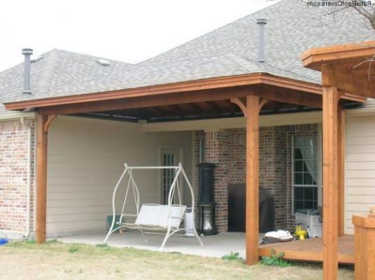 Adding A Covered Patio To Cross