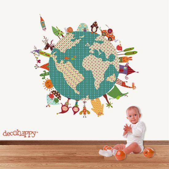 Vinilo infantil la tierra feliz la tierra feliz un vinilo for Vinilos infantiles ikea