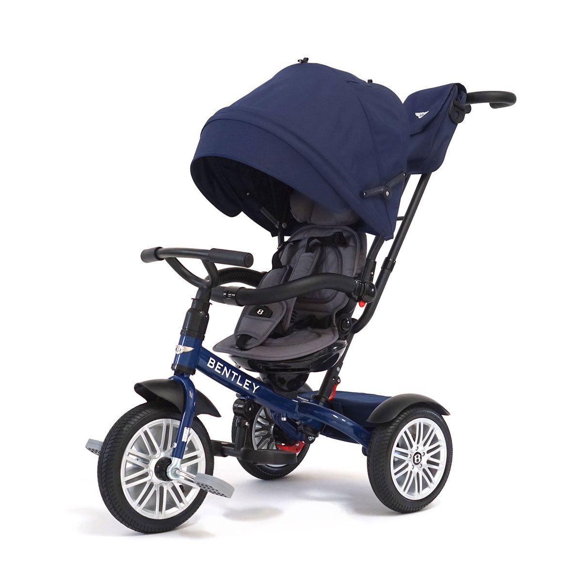 Sequin Blue Bentley 6 in 1 Stroller Trike Kids trike