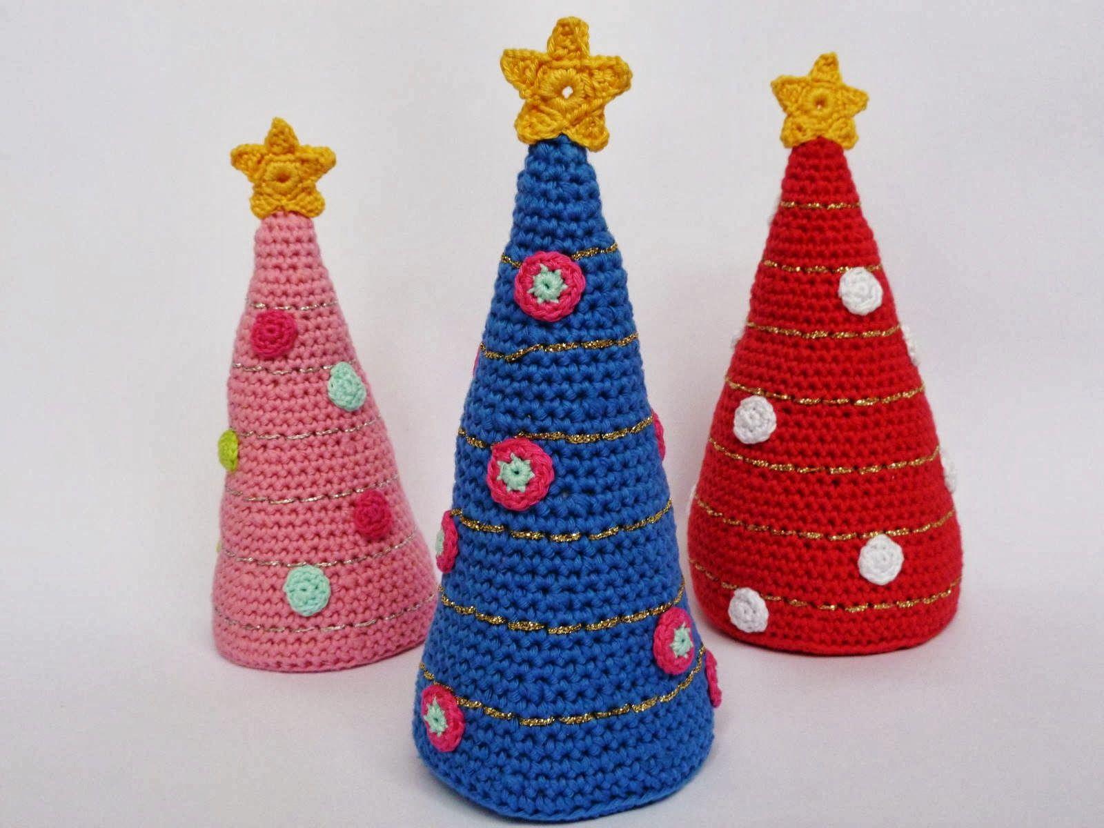 Kerstboom Haken Patroon Haken Pinterest Patroon Haken En