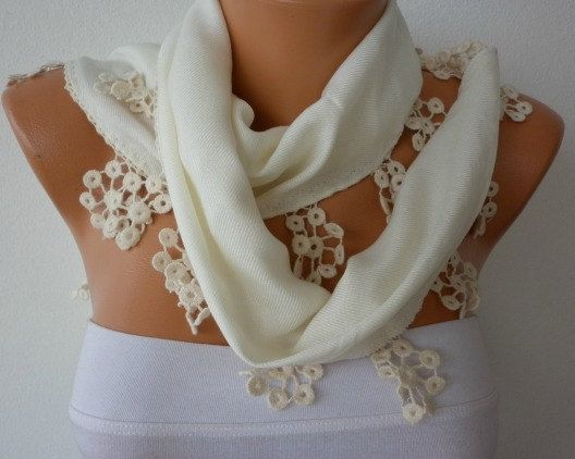 ON SALE  Women Scarf Pashmina  Scarf   Cotton Scarf   by fatwoman, $18.00