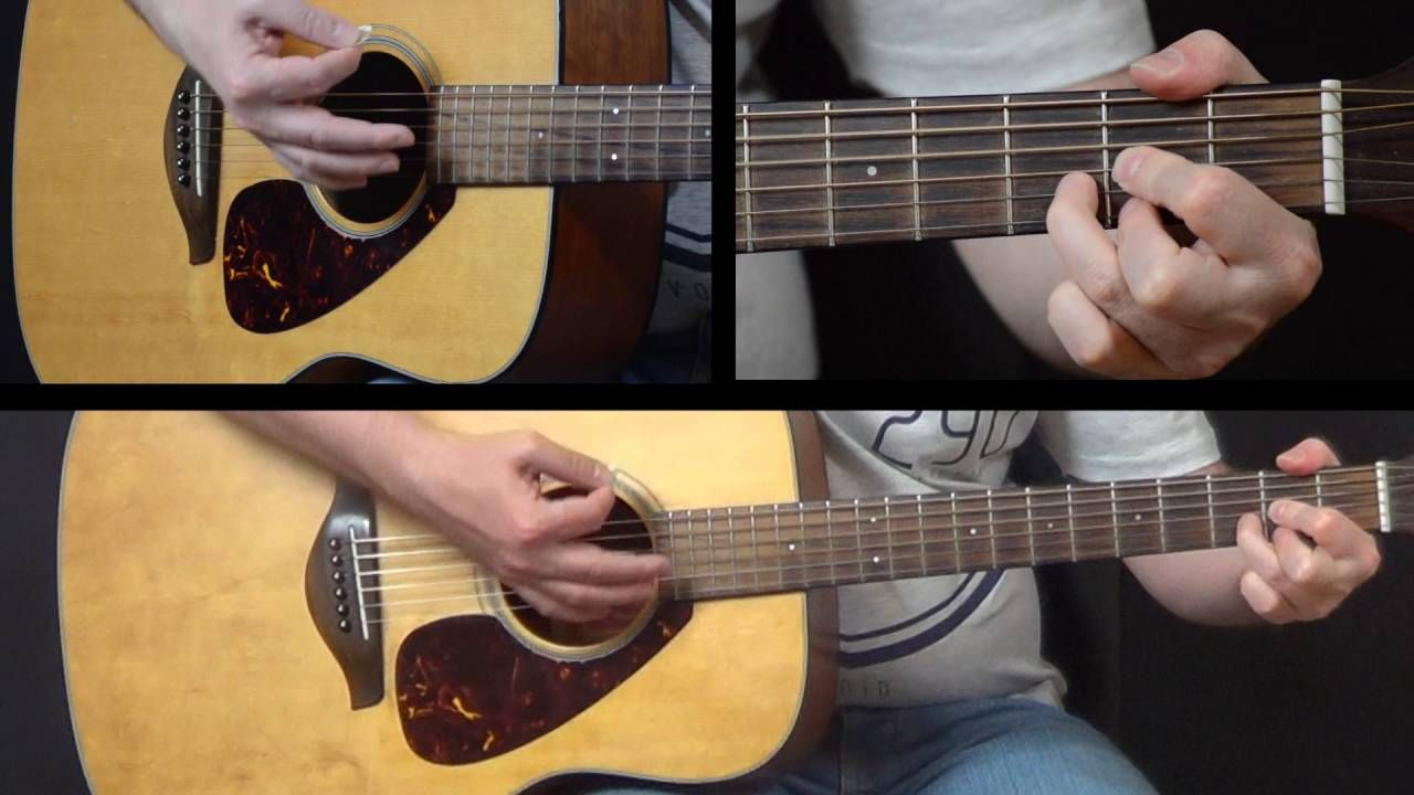 How To Play Peaceful Easy Feeling On Acoustic Guitar By The Eagles
