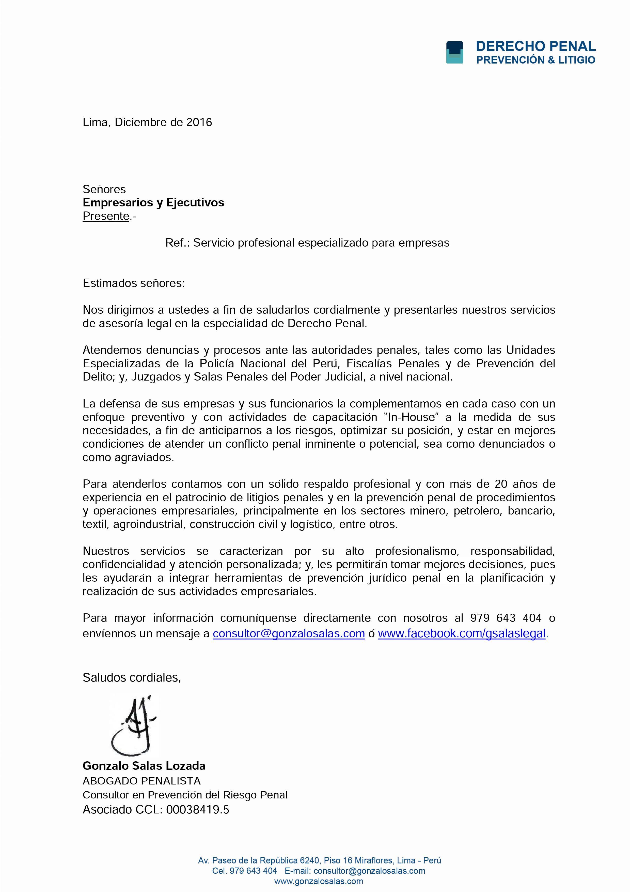 Carta De Presentación Para Empresarios Y Ejecutivos Swingers Clubs