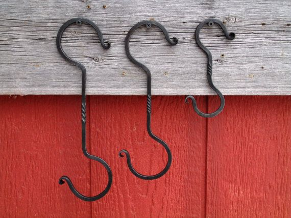 Plant Hanger Extenders Wrought Iron Hand Forged By Furnacebrook