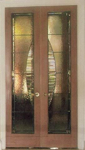 Art Glass By Wells Custom Beveled And Textured Leaded Glass