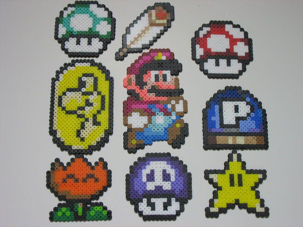 super mario world buttons