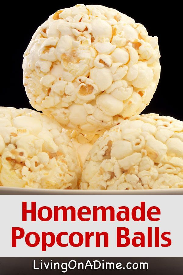 Homemade Popcorn Balls Recipe - Living on a Dime To Grow Rich