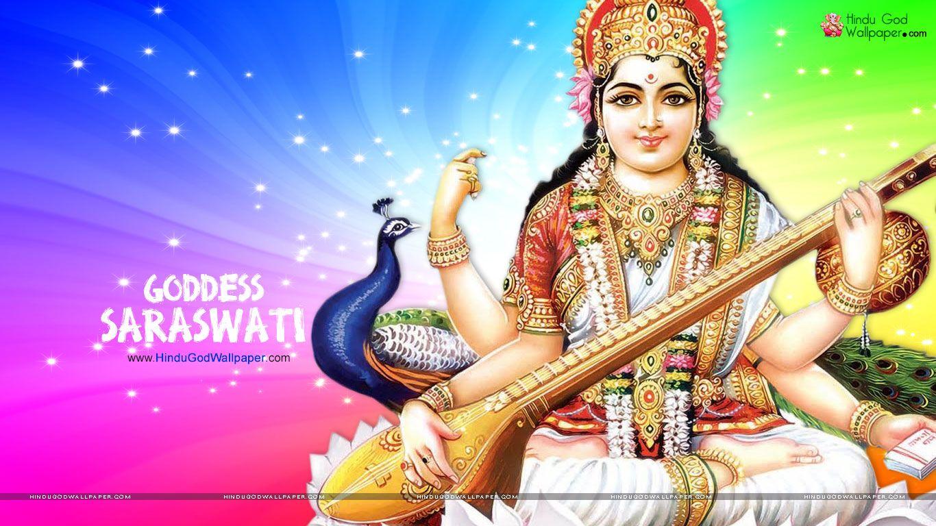 Saraswati Wallpaper 1366x768 Hd Free Download Saraswati Picture Wallpaper Free Download Saraswati Photo