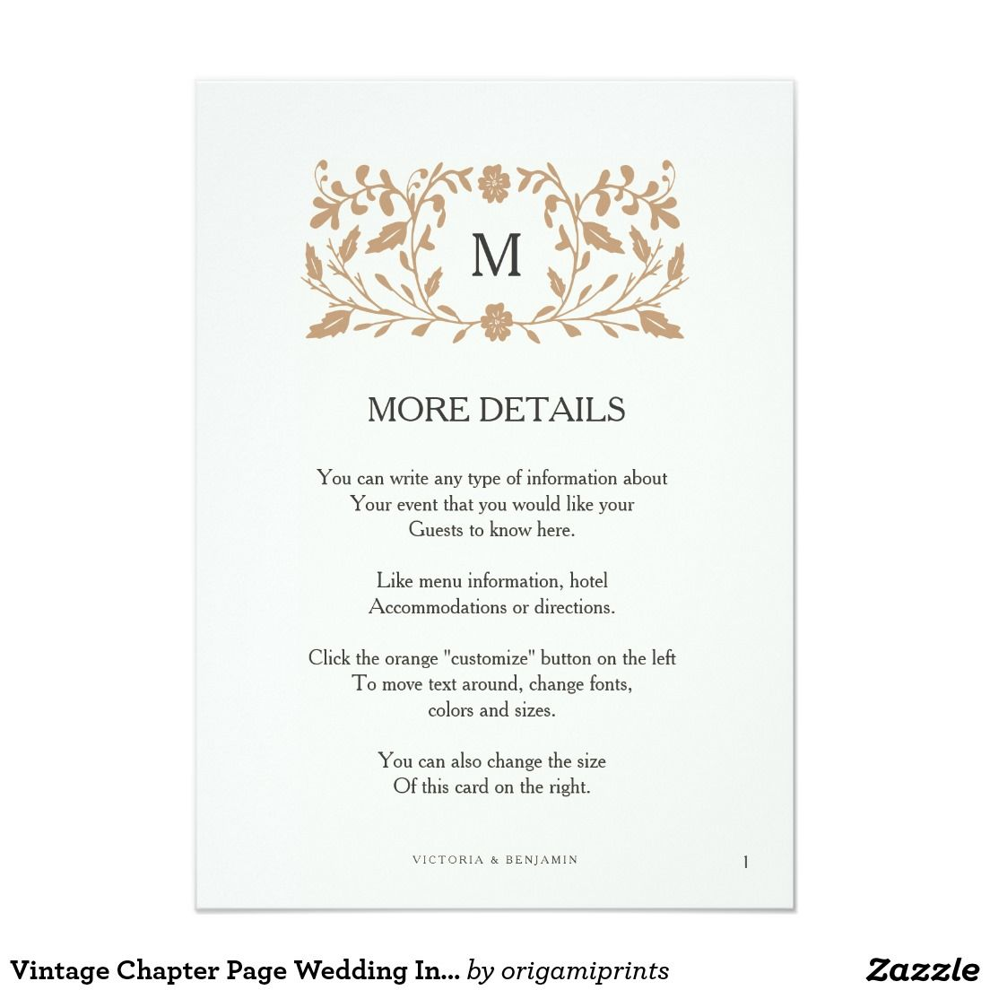 wedding invitation suites should include all of the vital details