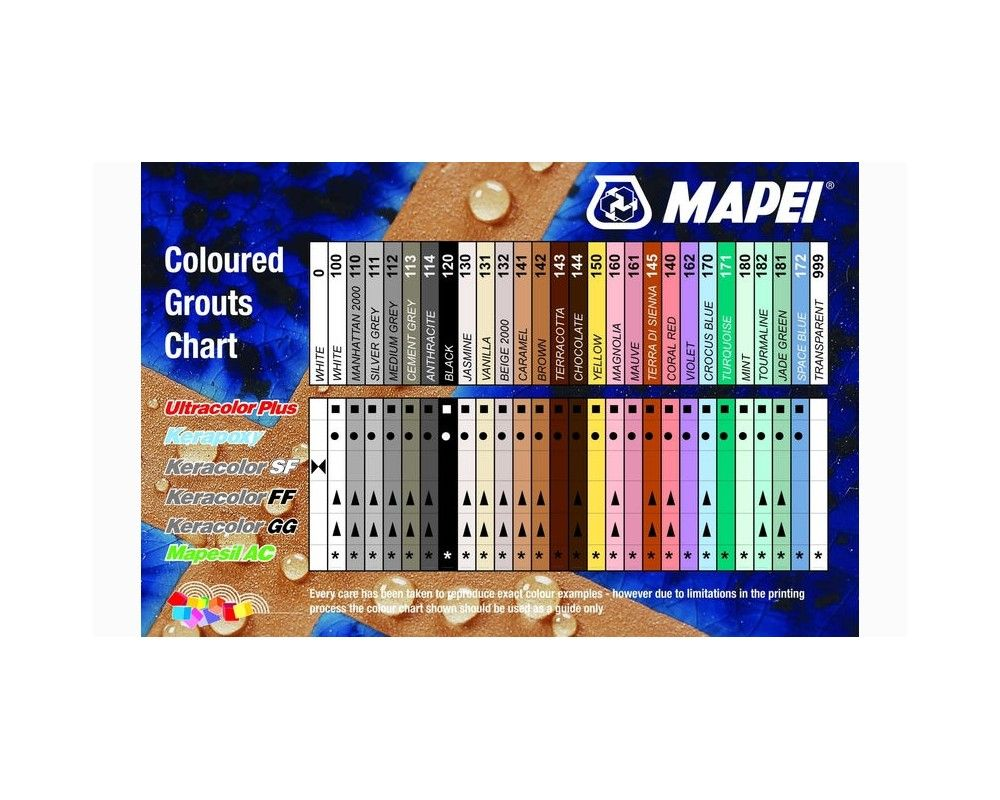 Mapei Grout Refresh Color Chart Choice Image Free Any Chart Examples