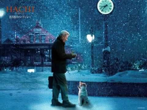 Hachi: A Dog's Tale - you can't watch without crying. A Dog's Tale about the bond between a professor (Richard Gere) and a lost Akita puppy.  One of the best movies you'll ever see! #dog #akita #animal