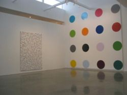 Damien Hirst Dot Paintings.
