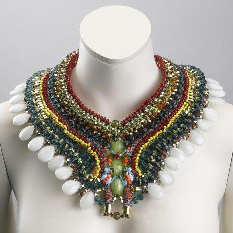 The INA beaded collar by Anita Quansah London