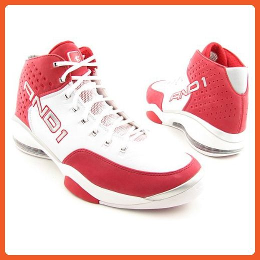 7dbfbe7a2fbb8 AND1 Jumpstart Mid White Basketball Shoes Mens 12.5 - Athletic shoes ...