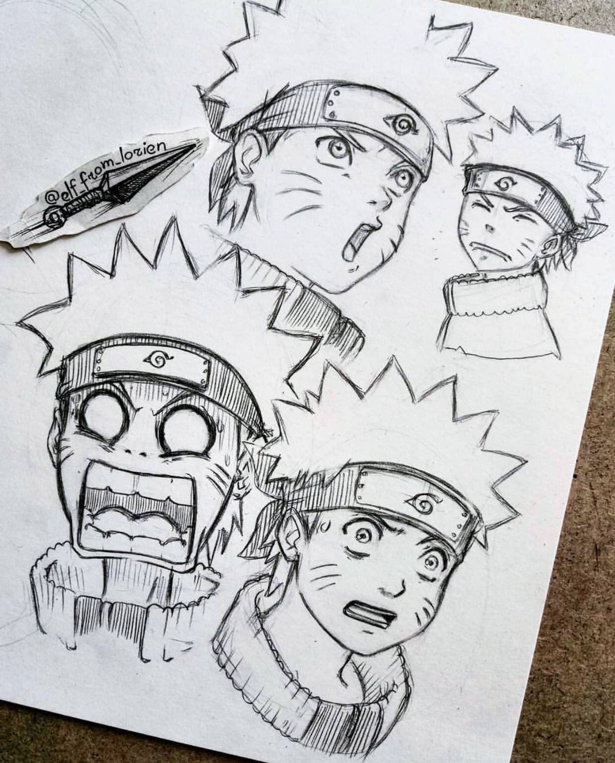 Naruto By Elf From Lorien Visit Our Website For More Anime And Animeart Narutoshipudden Don T Naruto Sketch Naruto Sketch Drawing Naruto Art