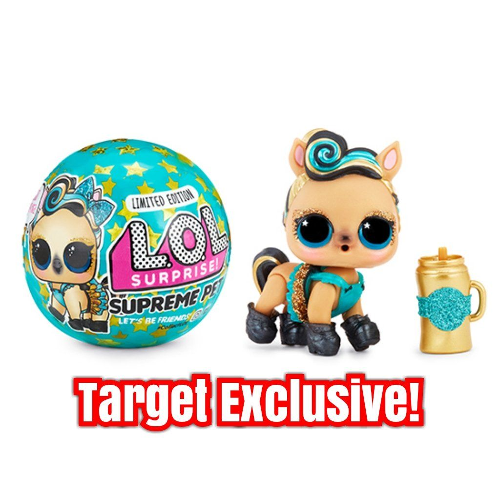 Lol Surprise 7 Layers Pets Supreme Limited Edition Luxe Pony