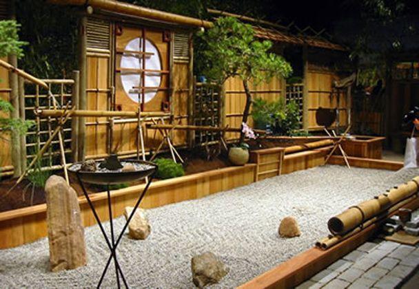 indoor Zen Garden   Small japanese garden, Japanese rock ...
